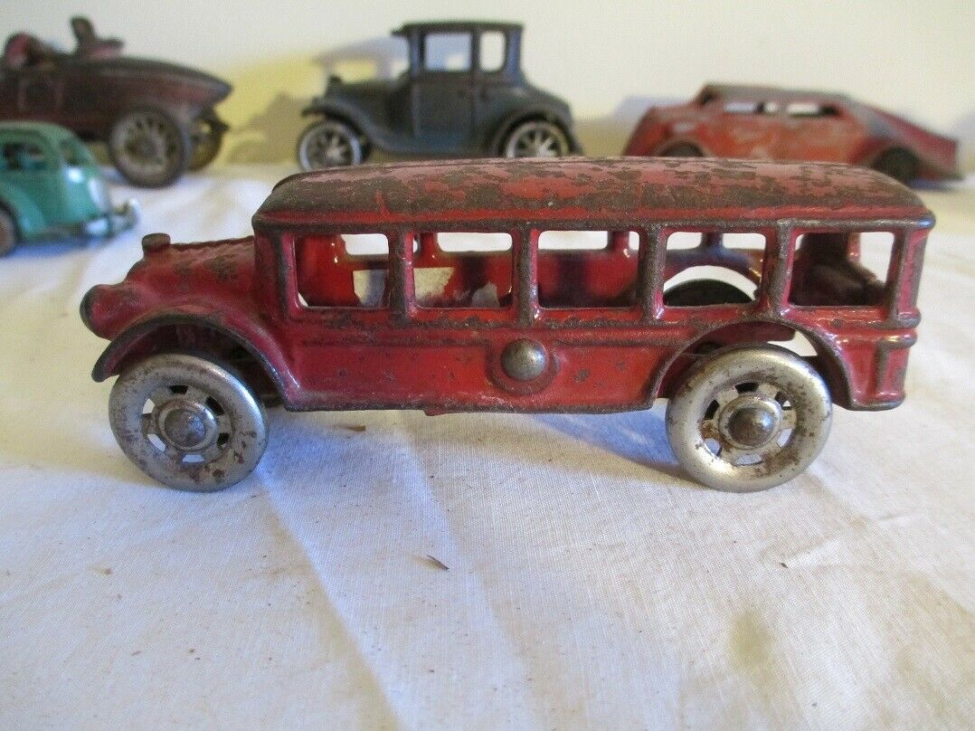 1930's A C Williams 5  Fageol Bus with steel spoked wheels