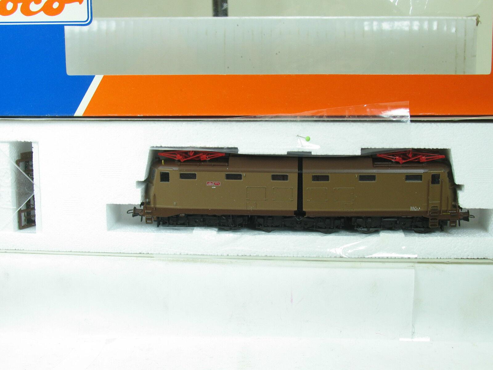ROCO h0 43605 E-Lok BR 636.055 Marrone delle FS b1655
