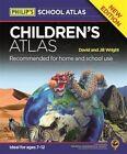 Philip's Children's Atlas by David Wright, Jill Wright (Hardback, 2016)