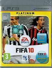 FIFA 10 platinum - PS3 - come nuovo! - TUTTO ITA -  Idea Regalo!
