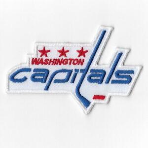 wholesale dealer 23724 e975d Details about NHL Washington Capitals Iron on Patches Embroidered Patch  Applique Badge Emblem