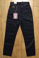 Women's Wrangler Angie Jeans Uk10 L32 Regular Fit Shiny Metallic Black
