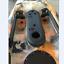 2pcs Black Kayak Canoe Boat Rudder Control Footrest Foot braces Pegs Pedals