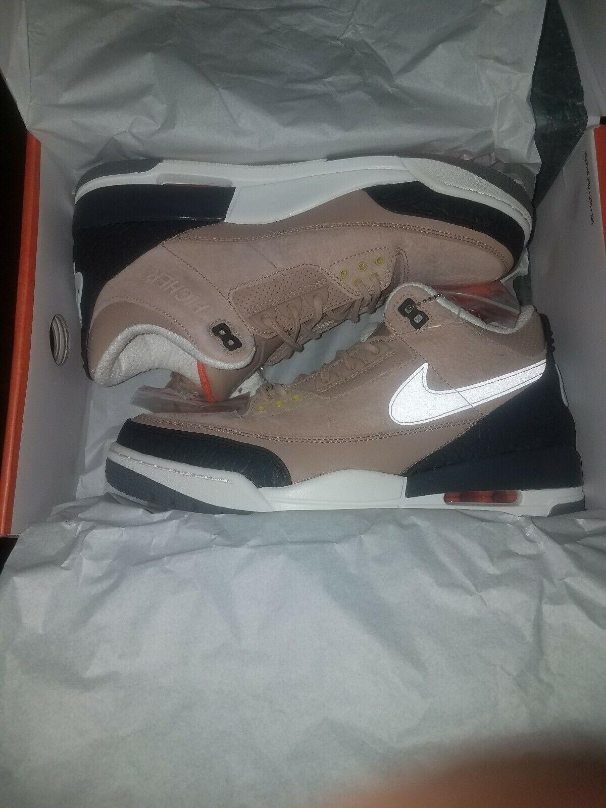 Nike Air Jordan 3 JTH 'Bio Beige' Justin Timberlake Men's Size 10