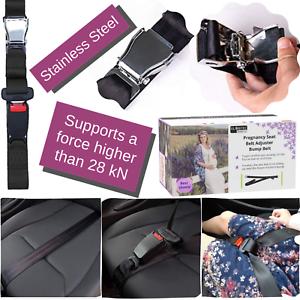 Embarazo cinturón del coche, auto cinturón de seguridad adaptador, ajustable en tamaño