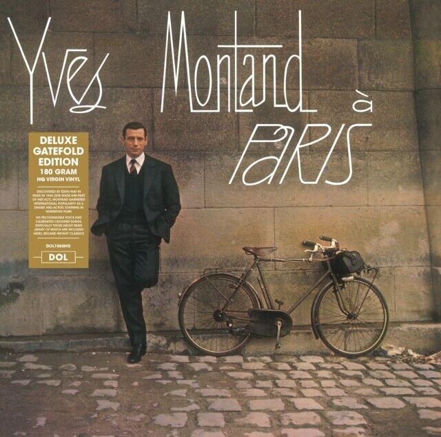 Yves Montand - A Paris - DELUXE GATEFOLD 180GRAM  VINYL LP - NEW&SEALED