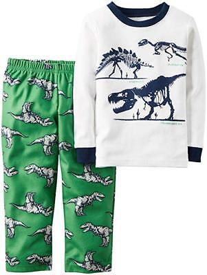 5af3d9375d96 Carters Toddler Boys 2 Piece Long Sleeve Fleece Pajama Sets ...