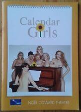 Calendar Girls programme Noel Coward Theatre Sep 2009 Gemma Atkinson Jill Baker