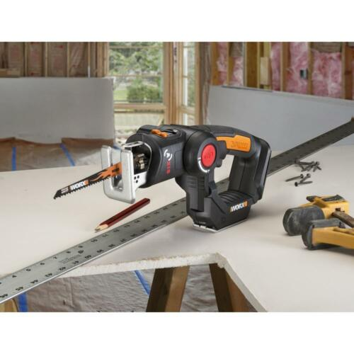 New WX550L.9 20V AXIS 2-in-1 Reciprocating Saw and Jigsaw