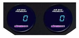 Image Is Loading 2 Single Digital Air Ride Gauges Amp Display
