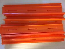 """Lot of Hot Wheels Track Builder - 15 Straight Tracks, 12"""" each great condition"""