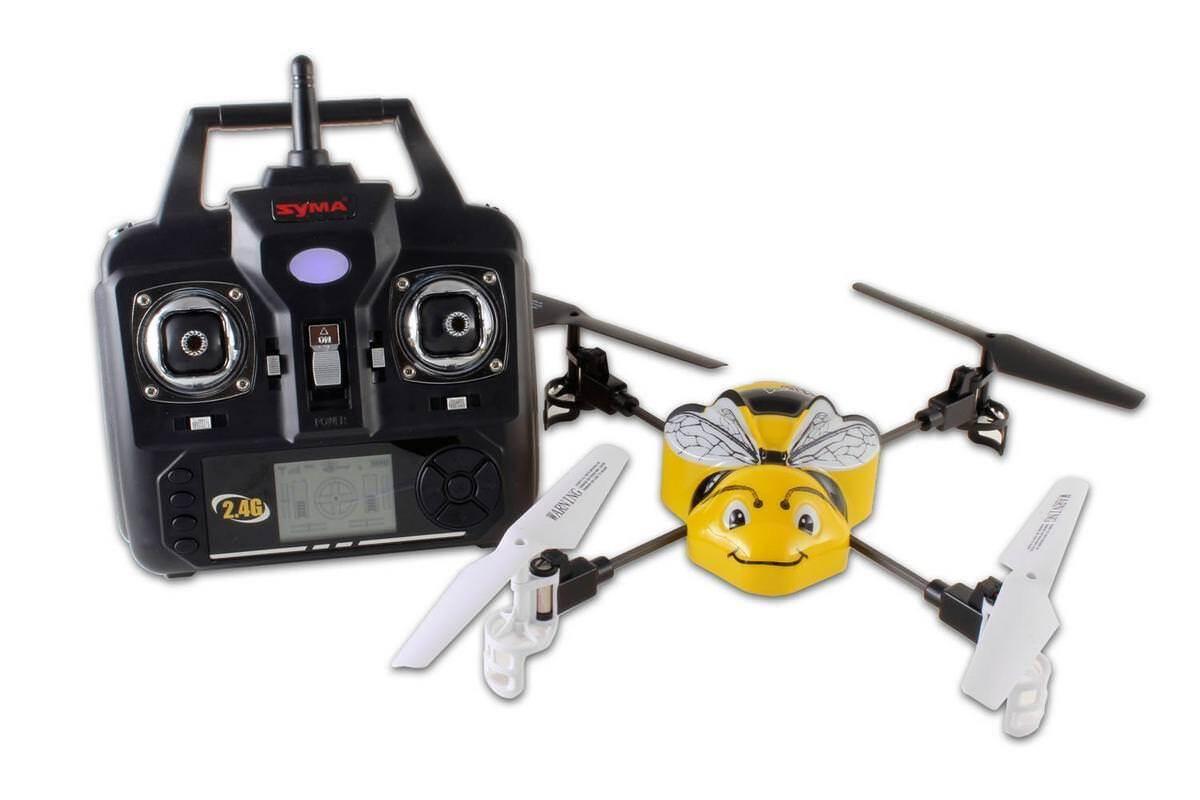 Quadricottero Radiocomandato Syma X1 4 Canali Bumble Bee 2,4 Ghz