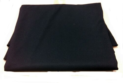"SPEAKER STEREO GRILL CLOTH FABRIC~BLACK SMALL PIECE 60/""x20/"""