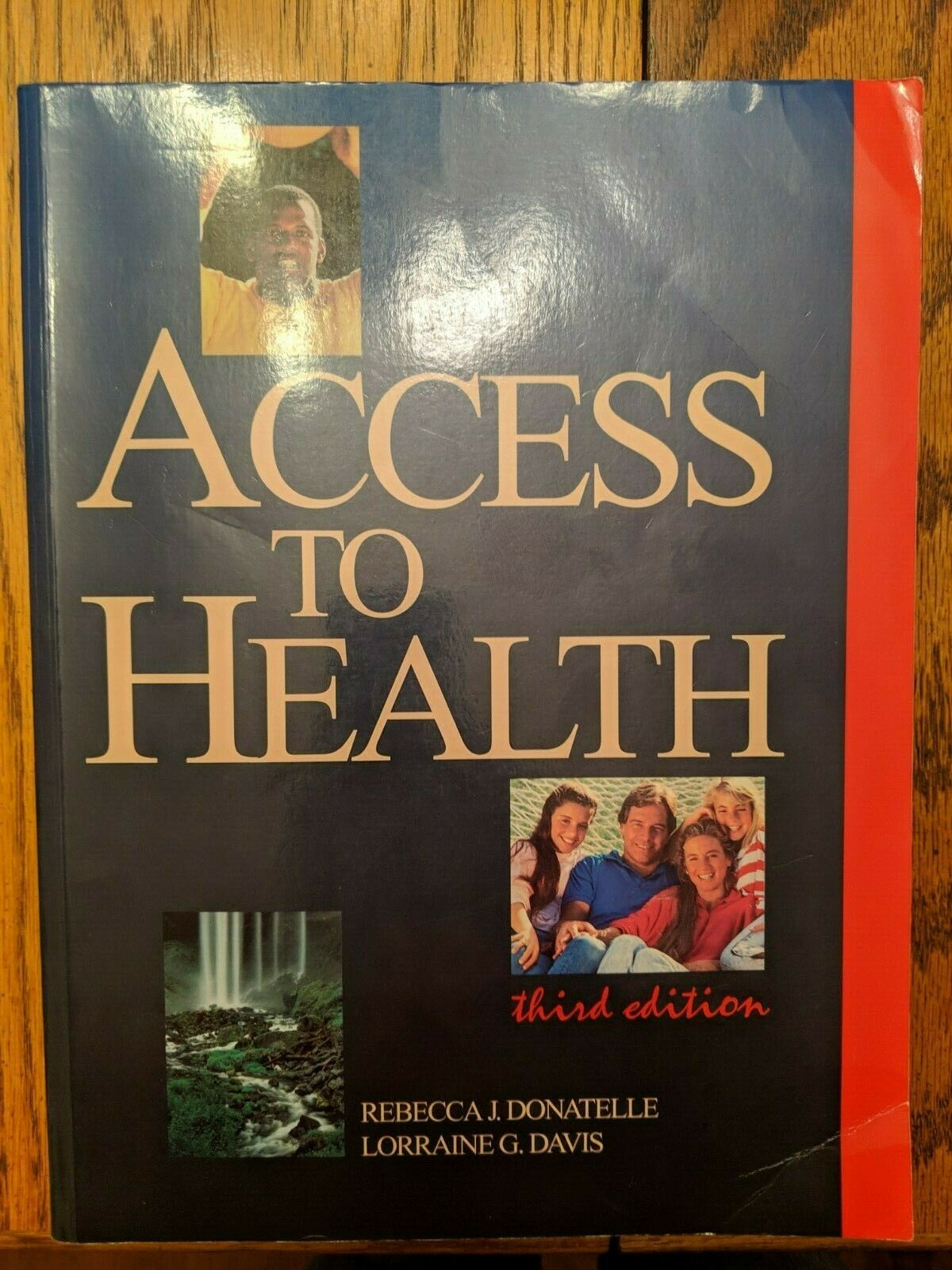 Access to Health by Lorraine G. Davis and Rebecca J. Donatelle (1993, Trade  Paperback) for sale online