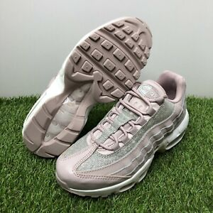 """NEW Women's Nike Air Max 95 SE """"Glitter"""" Size 9 Particle Rose Pink AT0068 600 