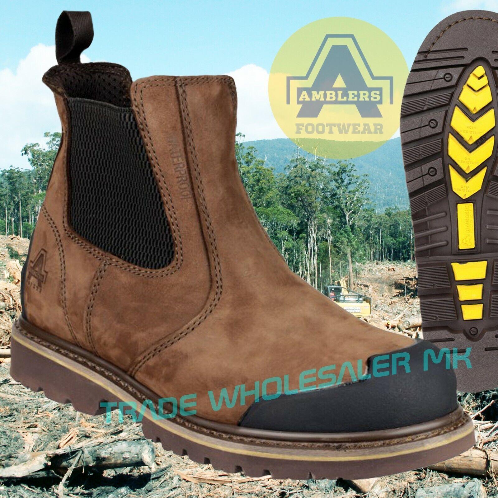 Amblers braun braun braun Dealer Safety Stiefel Größes 6-13 FS225 Toecap & Midsole    | Modern Und Elegant  ece97e