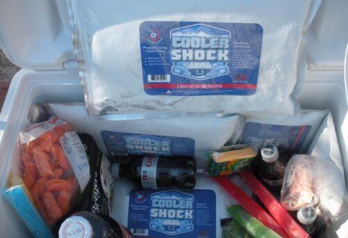 "Screw Cap 10/"" x 14/"" 3 Cooler Shock Lg Reusable Cooler Ice Packs Replace Ice"