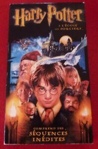 VHS-French-Movie-Harry-Potter-A-L-039-ecole-des-Sorciers-Version-Francaise
