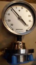 Ashcroft 50 102 Uh 04t 150 Rf 30 Vac 30 Psi Tantalum Diaphragm Hastelloy Bottom