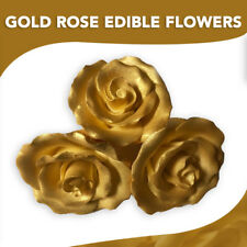 Edible Gold Sprinkles Pearlized Sugar Crystal Cake Decorations