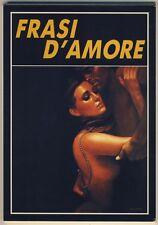 Sanjulian FRASI D'AMORE cofanetto con 12 cartoline a colori COME NUOVO