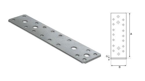 STALCO FLACHVERBINDER 100x35mm 25STK Lochplatten Holzverbinder Nagelplatte Holz