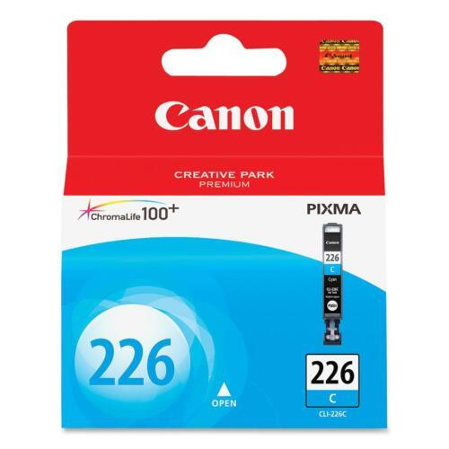 Canon Ink Cartridge 535 Page Yield Cyan CLI226CY