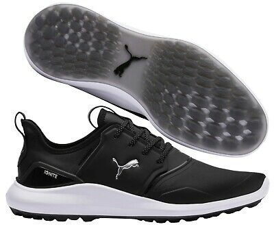 Puma Golf Ignite Nxt Pro Spikeless Golf Shoes Rrp 110 All Sizes Black Ebay
