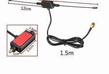 UNIVERSAL IN-CAR DIGITAL ANTENNA - RADIO, DVB-T, ISDB-T, 6dBi, 433 MHZ & AMP