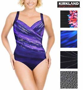 305d6bef8c Image is loading Kirkland-Signature-Miraclesuit-One-Piece-Swimsuit