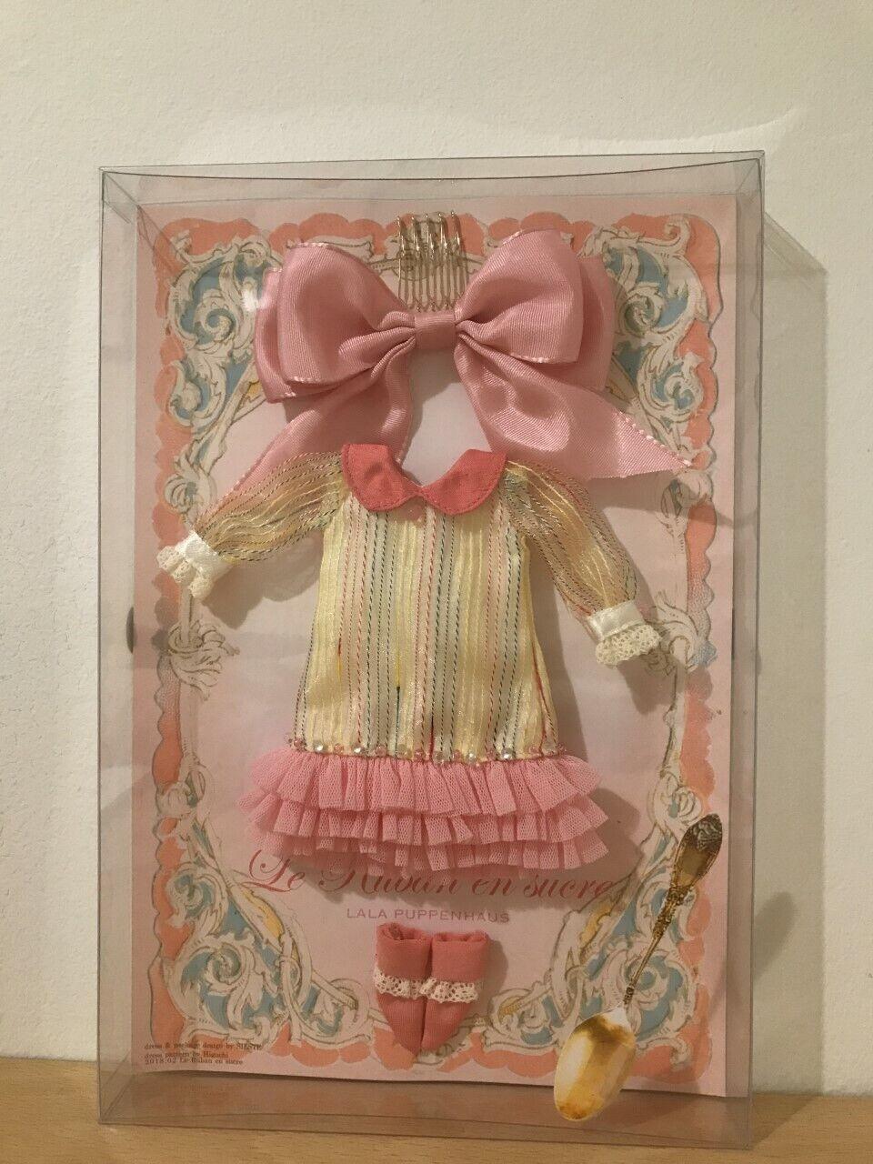 Lala Puppenhaus le ruban en Sucre-Neo Blythe Doll vestido Set nuevo-Reino Unido Vendedor