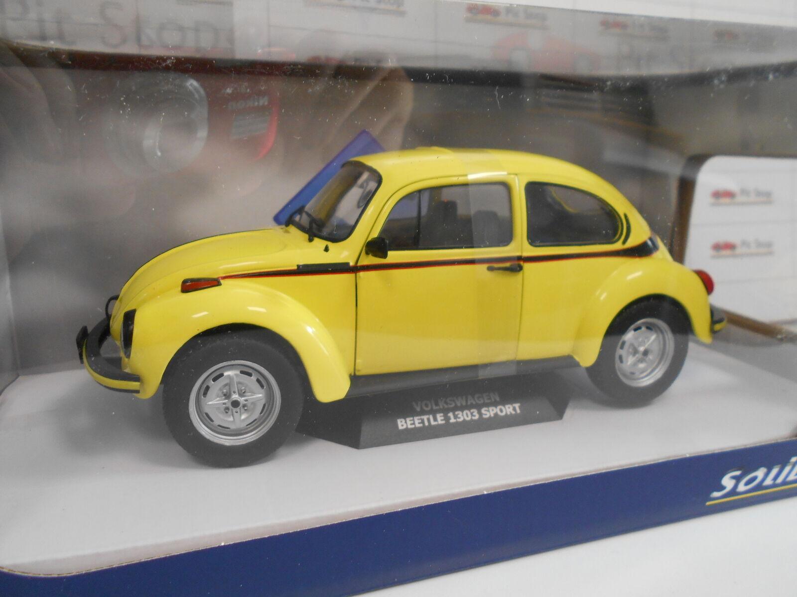 1800511 by Solid 'Volkswagen Beetle 1303 Sport Yellow 1974 1 18