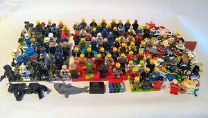 10 X Lego Mini Figures Pre Owned Job Lot