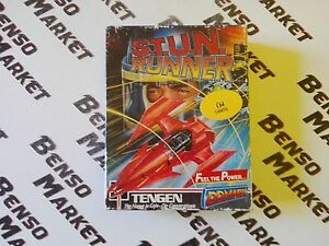S-T-U-N-RUNNER-STUN-COMMODORE-64-128-CASSETTA-ORIGINALE-BIG-BOX-COMPLETO