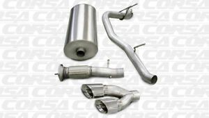 Corsa-Sport-Cat-Back-Exhaust-Single-Side-Exit-for-07-10-Cadillac-GMC-6-2L