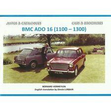 BMC ADO 16 (AUSTIN ET MORRIS 1100-1300) - AUTOS ET CATALOGUES - NEUF