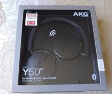 AKG Y50BT - Brand New Sealed - Black bluetooth on ear earphone