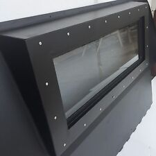 HUMVEE Premium Iron Curtain - Rear Curtain Replace Canvas With Steel M998 HMMWV
