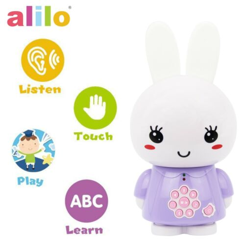 Purple Alilo G6X Honey Bunny Interactive Smart Story Teller /& Lullaby Song