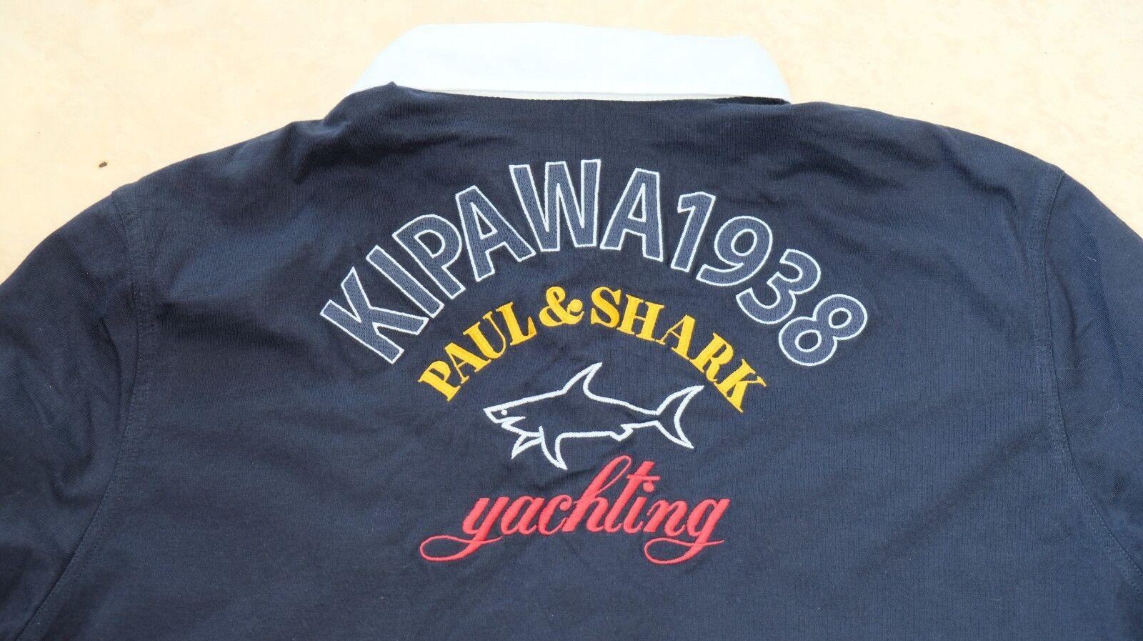 Paul & Shark Yachting sweatshirt polo shirt size XL Kipawa Kpw Oslo 1938
