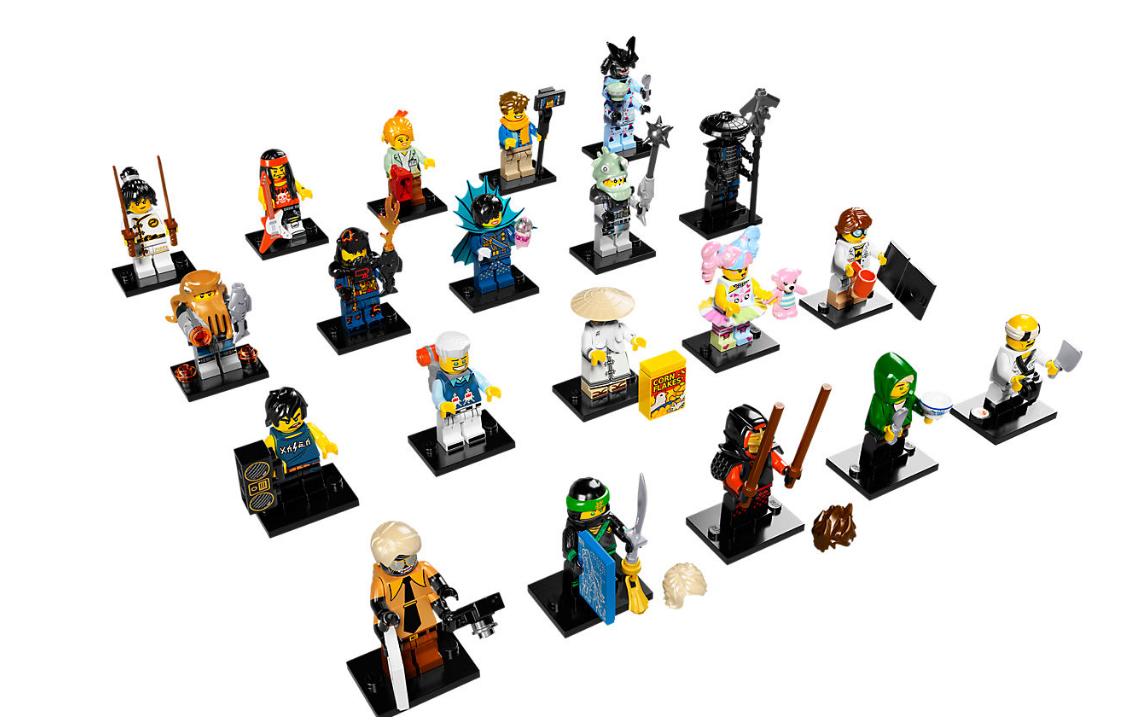 LEGO SERIES THE LEGO NINJAGO MOVIE COLECCION COMPLETA 71019 NOVEDAD NUEVO 2017