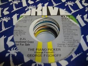 HEAR-Funk-Jazz-Promo-45-GEORGE-FISCHOFF-The-Piano-Picker-on-Drive-Promo