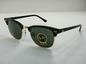 Ray Ban Rb3016 Clubmaster Sunglasses  image is loading ray ban clubmaster sunglasses rb3016 w0365 black