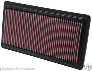 Mazda-6-GH-1-8-2-0-2-2-2-5-MZR-K-amp-n-elemento-filtro-aire-alto-flujo