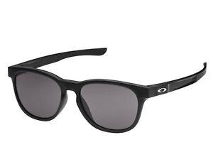 c76829843 Image is loading Oakley-Stinger-Prizm-Grey-Matte-Black-Round-Sunglasses-