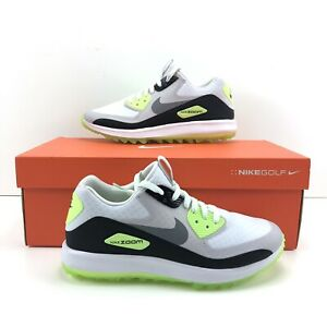 Details about Nike Air Zoom 90 IT White Cool Grey Mcilroy Golf Shoe Women Sz 8.5