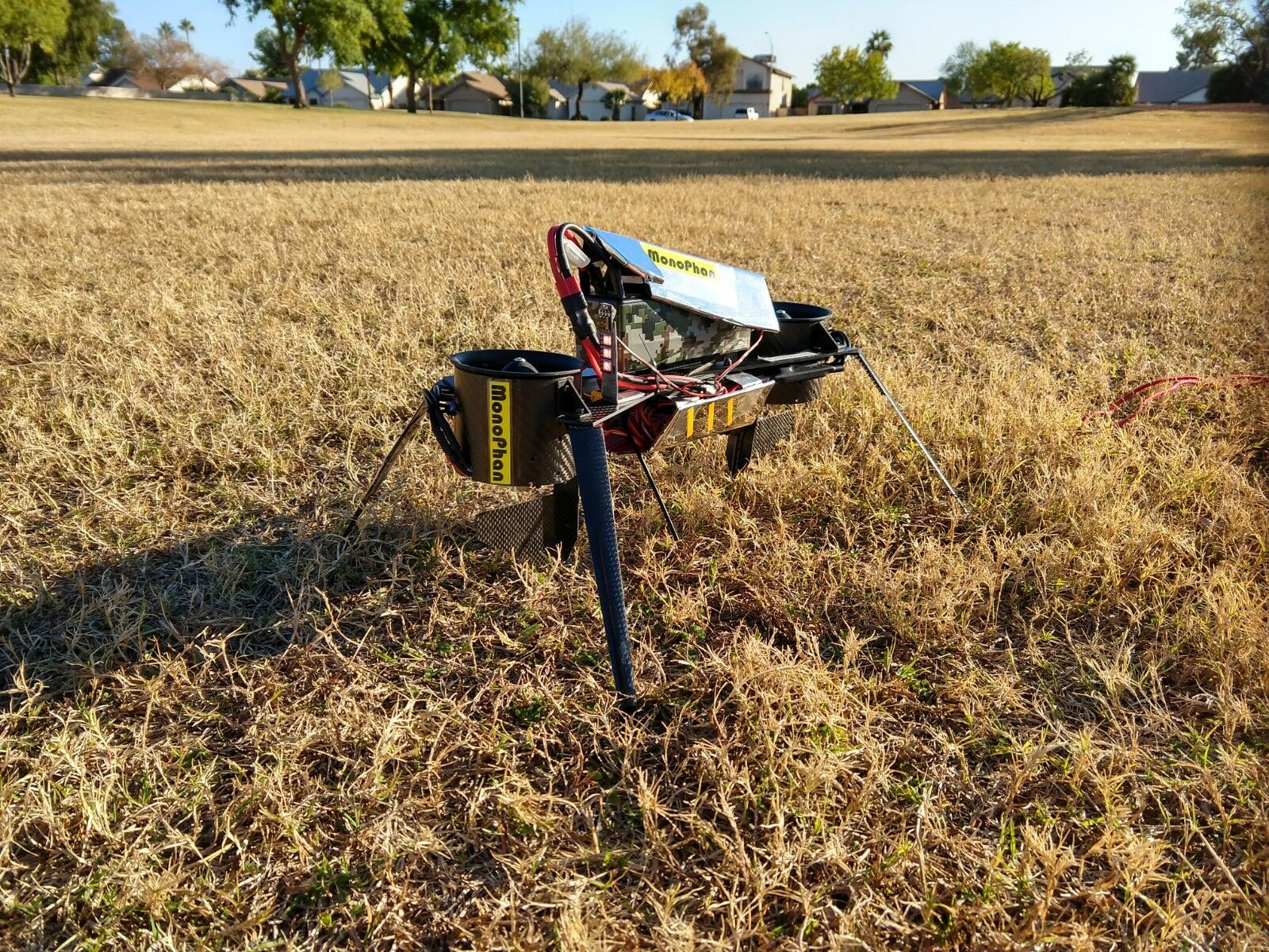 MONOPHAN MOTOPHAN MOTOBOT HOVERBIKE ProssoOTYPE THRUST VECTORING EDF DRONE-70MMEDF