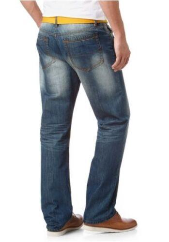 Arizona Jeans Con Cintura Nuovo k-gr.24 25,28 UOMO DENIM PANTALONI BLU used l30