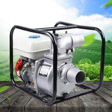 New Listinggasoline Water Pump 75 Hp 210cc 3 Portable Gas Powered Semi Trash Water Pump