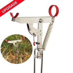 Automatic Spring Angle Pole Fish Bracket Standard Fishing Rod Holder Retriever❤